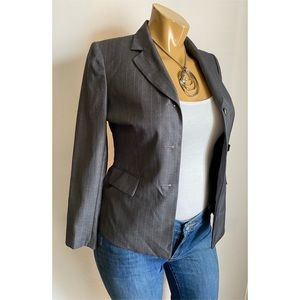 Kasper Gray Women's Blazer Jacket